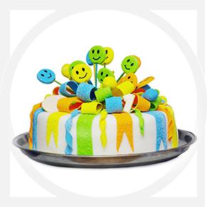 מגוון עוגות<br />מבצק סוכר