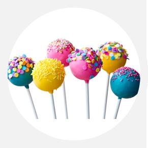 מגוון סוכריות<br />מבצק סוכר